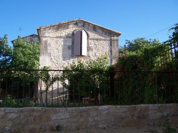 Cloture Gothique, installé à fontvieille
