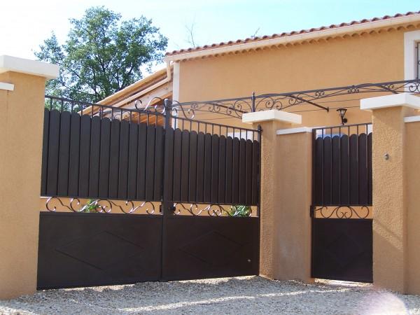 Portail et portillon installé sur Saint Rèmy de Provence
