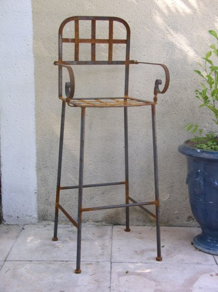 Tabouret de bar Forgé