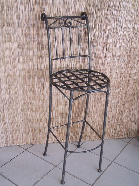 Tabouret de bar forgé SG